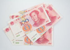 Chinese money. A lot of chinese money Royalty Free Stock Images
