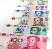 Chinese money Renminbi Royalty Free Stock Photography