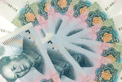 Chinese money rmb Royalty Free Stock Photos