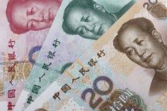 Chinese money (RMB). Stock Photo