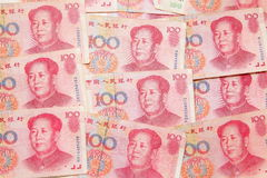 Chinese Money yuan background Stock Photo