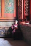 Chinese Monk Buddism China Royalty Free Stock Photos
