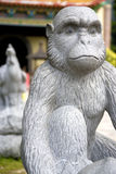 Chinese Monkey Animal Zodiac Statue Stock Image