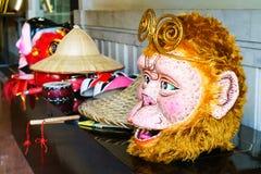 Chinese monkey king god mask Royalty Free Stock Photography
