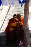 Chinese monks Royalty Free Stock Photo