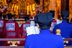 Chinese monks Royalty Free Stock Image