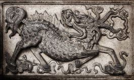 Chinese monster Royalty Free Stock Photography