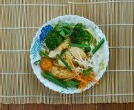 Chinese Moo Goo Gai Pan stockbilder