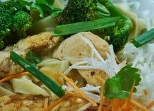 Chinese Moo Goo Gai Pan stockbild