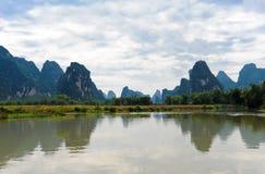 Chinese mooie landschappen Stock Afbeelding