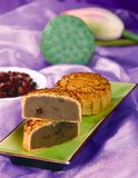 Chinese moon cake Royalty Free Stock Photography