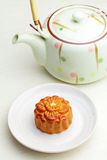 Chinese moon cake Royalty Free Stock Photos