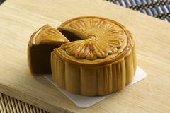Chinese moon cake Stock Photo