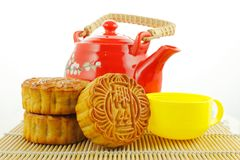 Chinese moon cake Stock Image