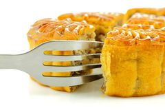 Chinese moon cake Stock Images