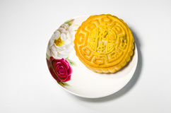 Chinese moon cake Royalty Free Stock Photo
