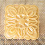 Chinese moon cake ready to be cooked Royalty Free Stock Images