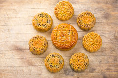 Chinese Moon cake Stock Photography
