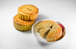 Chinese moon cakes Stock Photography