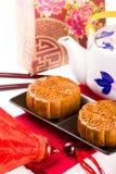Chinese Mooncake Royalty Free Stock Photo