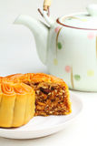 Chinese mooncake Stock Photos
