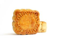 Chinese mooncakes Stock Photography