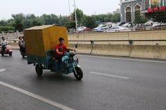 Chinese motorists stock photography