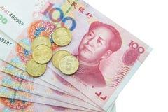 Chinese munt (renminbi) Stock Foto