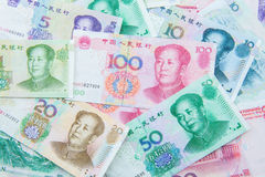 Chinese munt (renminbi) Royalty-vrije Stock Afbeelding