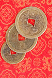 Chinese Muntstukken Stock Afbeelding