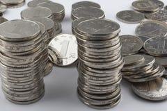 Chinese muntstukken (RMB) Royalty-vrije Stock Fotografie