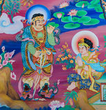 Chinese mural painting Stock Images