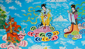 Chinese mural Royalty Free Stock Images