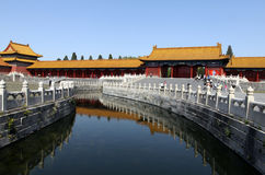 Chinese Museum of Beijing the Imperial Palace royalty free stock photography