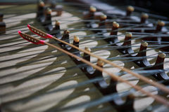 Chinese musical instrument Stock Image