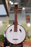 Chinese  musical instrument yueqin attended the exhibition Royalty Free Stock Photo