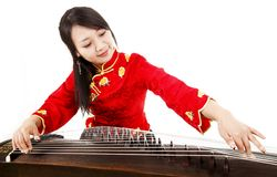 Chinese musician Stock Image