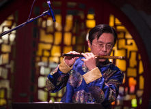 Chinese musician Stock Photo