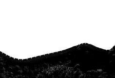 Chinese muur Royalty-vrije Stock Foto's