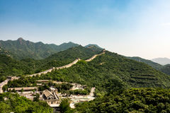 Chinese muur Stock Foto