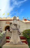 Chinese mythology statues in Chinese temple Royalty Free Stock Photography
