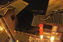 Chinese nacht zen Royalty-vrije Stock Foto's