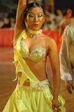 Be intoxicated- China Nanchang international standard dance National Open. 2007 Chinese Nanchang international standard dance national open was held in the Stock Image