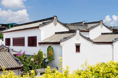 Chinese national characteristics of vernacular dwelling buildings Royalty Free Stock Images