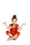 Chinese national costume Royalty Free Stock Image