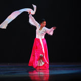 Chinese national dance Royalty Free Stock Image