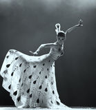 Chinese national dancer Royalty Free Stock Photography
