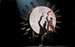 Chinese national dancer Stock Photo