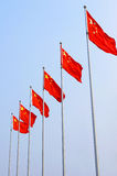 Chinese national flag Royalty Free Stock Photography