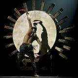 Chinese nationale danser royalty-vrije stock foto